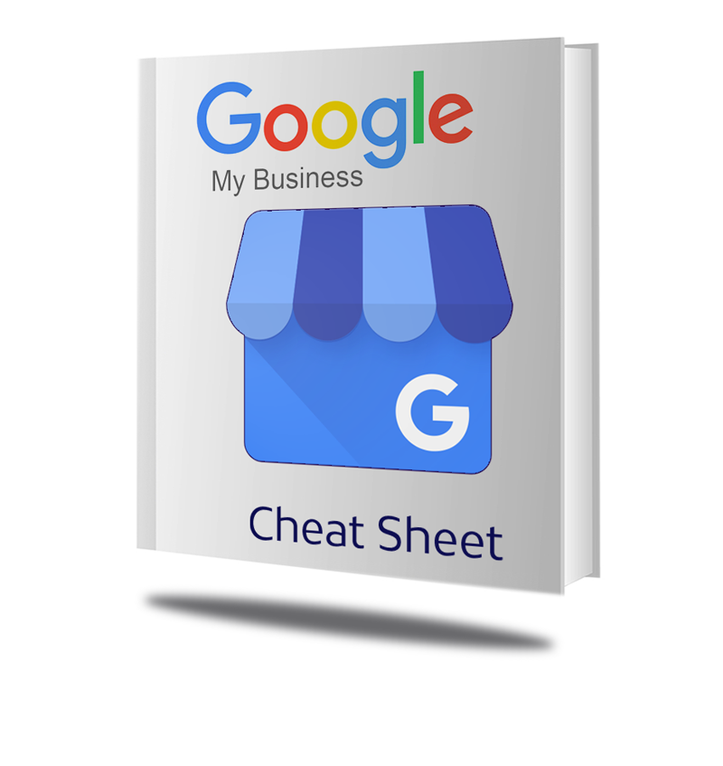 Google My Business Cheat Sheet Cover