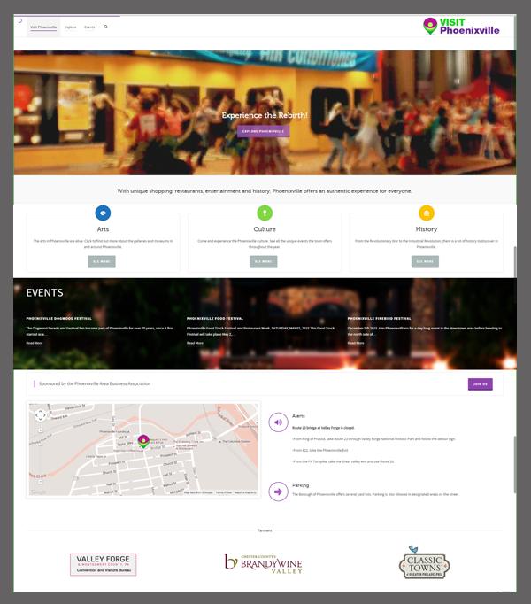 Phoenixville Website Design Services