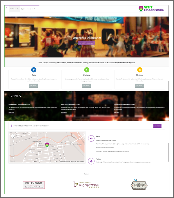 Phoenixville Website Design Services